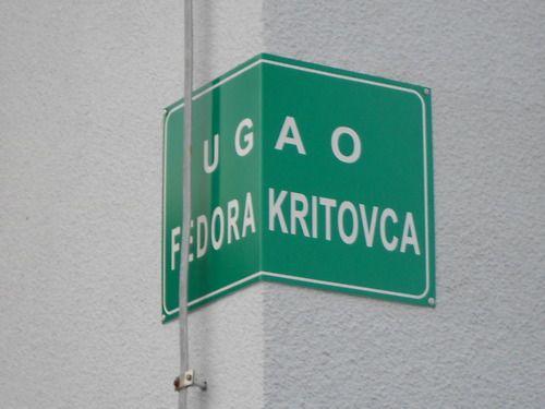 3. Sasa Simpraga, Ugao Fedora Kritovca