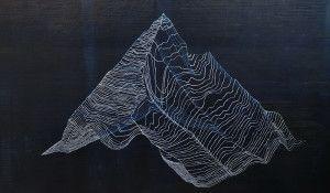 Planina 1, 120 x 180 cm, ulje na platnu 2015.