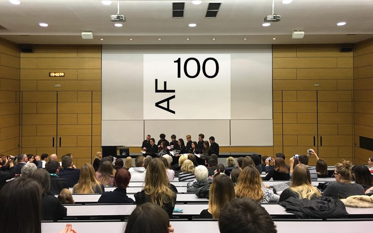 100 Godina Arhitektonskog Fakulteta Vizkultura Hr